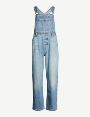 CITIZENS OF HUMANITY Wide-leg faded wash denim dungarees