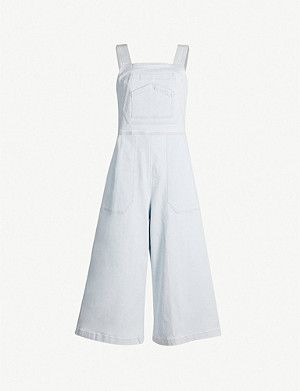CITIZENS OF HUMANITY Kelly sleeveless stretch-denim jumpsuit