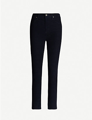 CITIZENS OF HUMANITY: Harlow slim-fit high-rise corduroy trousers