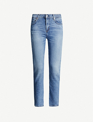 CITIZENS OF HUMANITY Harlow slim-fit high-rise jeans