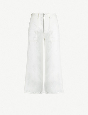 CITIZENS OF HUMANITY Eva cropped wide-leg high-rise jeans