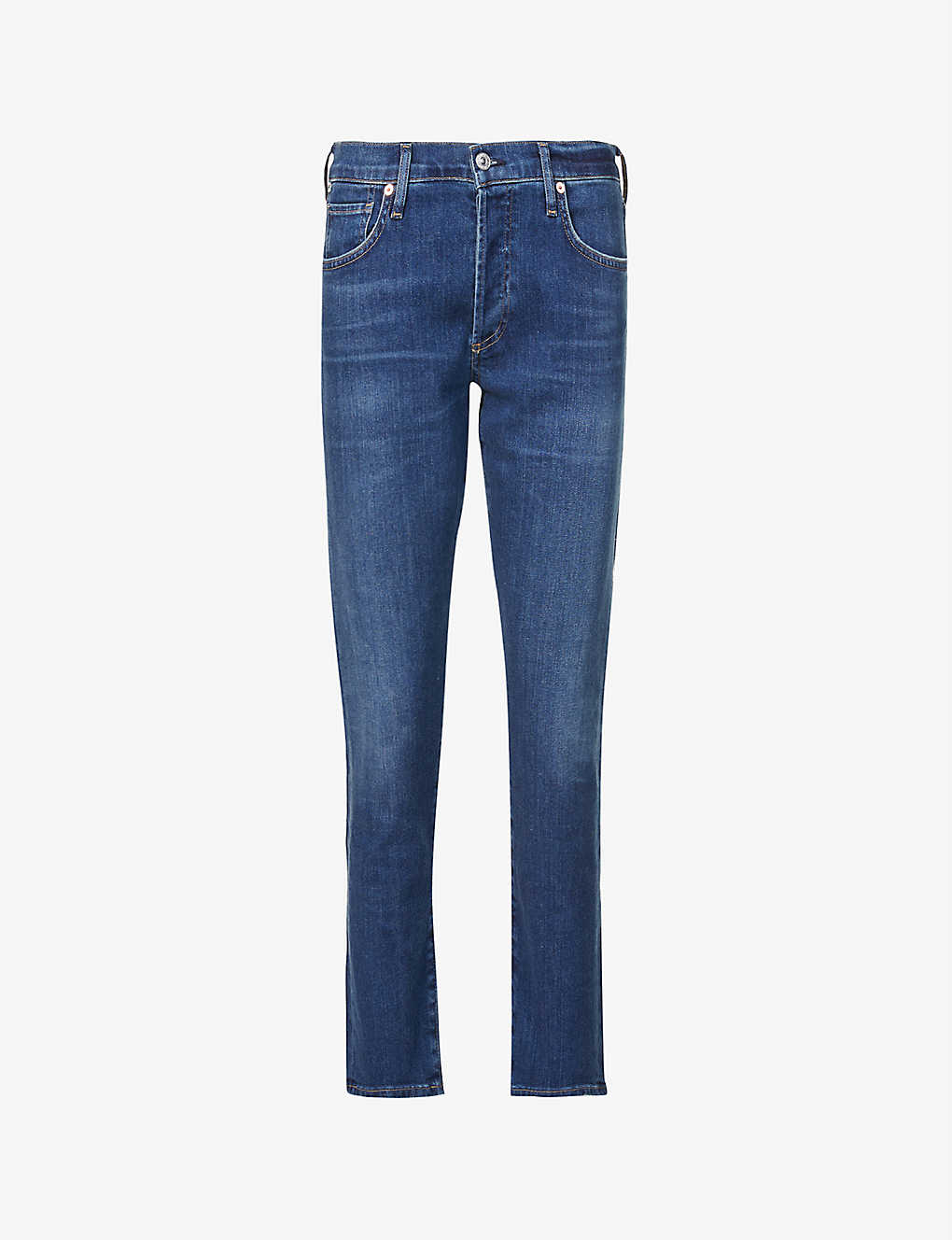 CITIZENS OF HUMANITY: Emerson straight slim-fit mid-rise boyfriend jeans