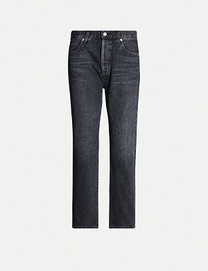 CITIZENS OF HUMANITY McKenzie straight mid-rise organic jeans
