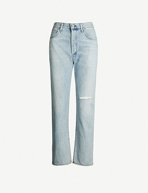 CITIZENS OF HUMANITY McKenzie straight high-rise jeans