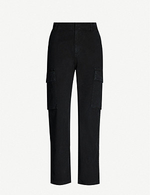 CITIZENS OF HUMANITY Gaia tapered stretch-cotton trousers
