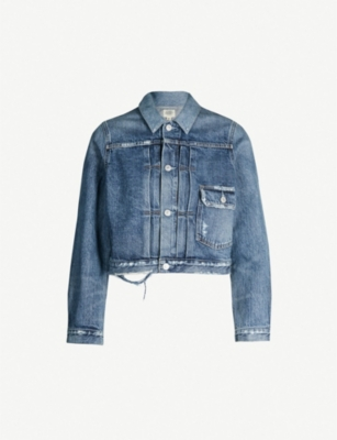 CITIZENS OF HUMANITY Dillon distressed denim jacket