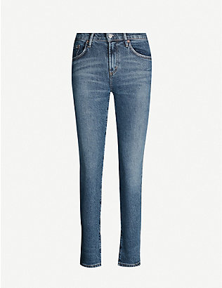 AGOLDE: Toni slim-fit mid-rise jeans