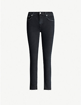 AGOLDE: Toni straight mid-rise jeans