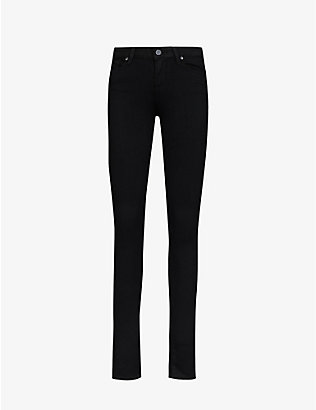 PAIGE: Verdugo ultra-skinny mid-rise jeans