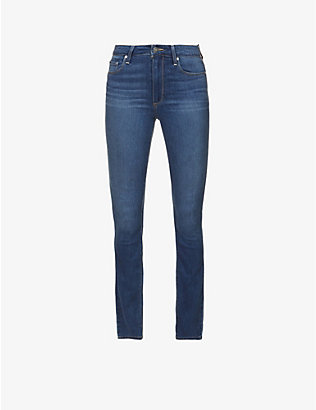 PAIGE: Hoxton skinny high-rise jeans
