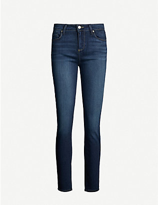 PAIGE: Verdugo Ankle ultra-skinny mid-rise jeans