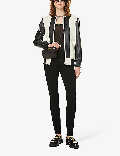 PAIGE Margot ultra-skinny high-rise jeans