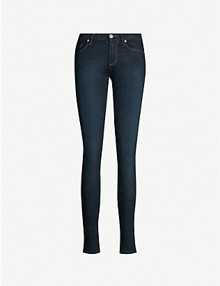 PAIGE: Leggy ultra-skinny mid-rise jeans