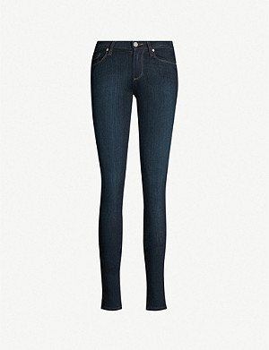 PAIGE Leggy ultra-skinny mid-rise jeans