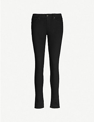 LEVIS: 711 skinny mid-rise jeans