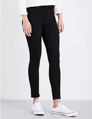 LEVIS: 721 super-skinny high-rise jeans