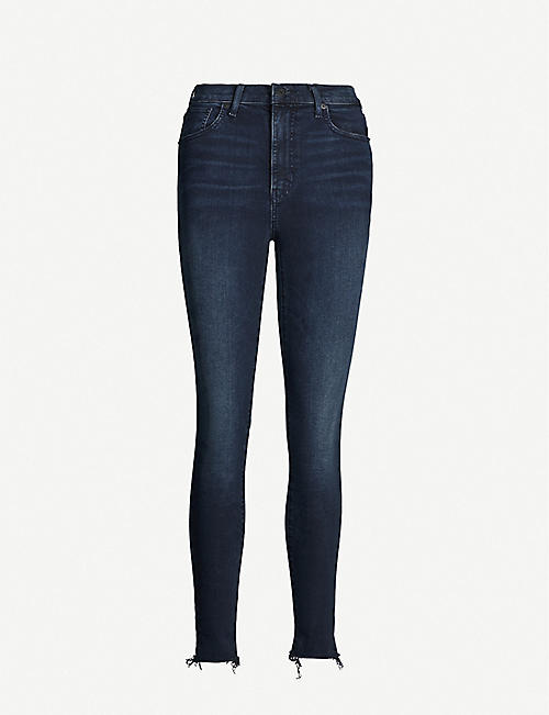 LEVI'S Mile High faded skinny high-rise jeans