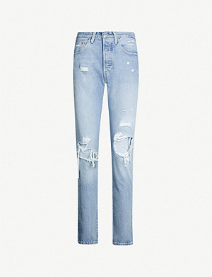 6241adc066 LEVIS MADE   CRAFTED - 501 skinny high-rise jeans
