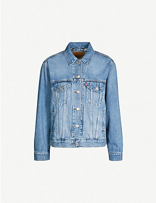 LEVIS: Ex-boyfriend denim trucker jacket