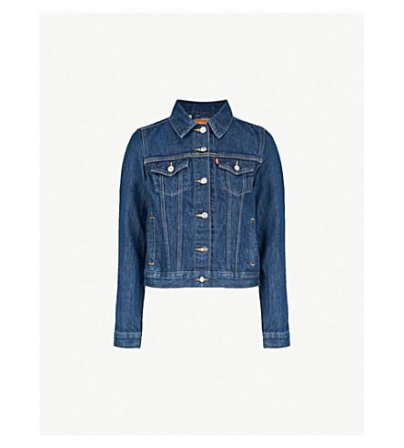 279ac520f3fb LEVI S Original Trucker denim jacket (Clean+dark+authentic