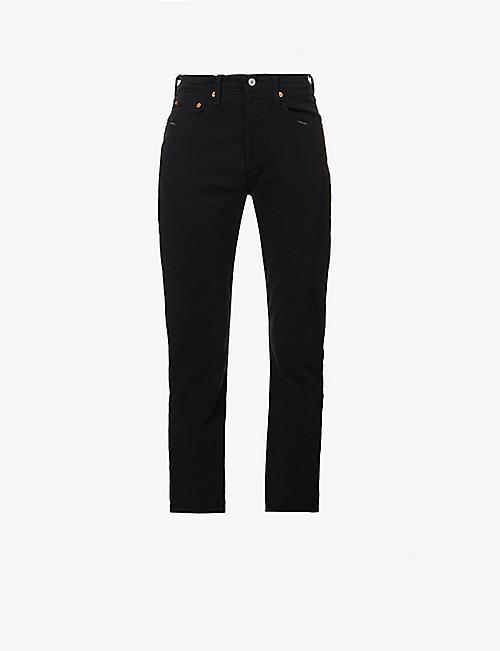 13d7cc48d5 Cropped - Jeans - Clothing - Womens - Selfridges   Shop Online
