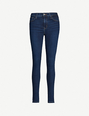 LEVI'S 720 Super Skinny high-rise jeans