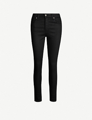 LEVIS MADE & CRAFTED 721 mid-rise skinny velvet jeans