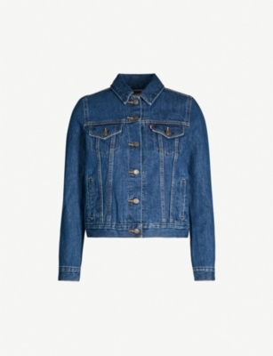 LEVI'S Original Line denim trucker jacket
