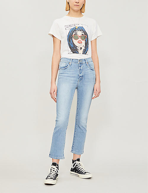 LEVI'S Mile High high-rise flared jeans