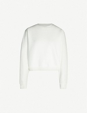 LEVIS MADE & CRAFTED Cotton-blend jersey sweatshirt