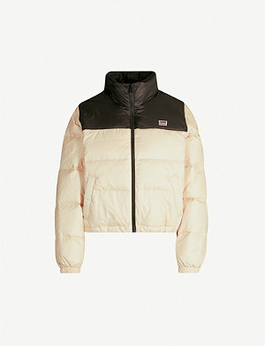 LEVI'S Francesca branded shell-down puffer jacket