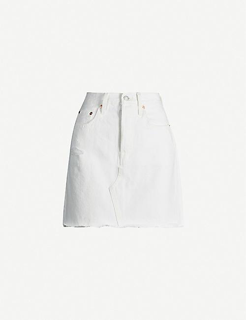 ad75318fff Denim skirts - Denim - Clothing - Womens - Selfridges | Shop Online