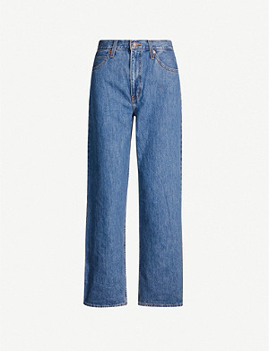 LEVI'S Dad straight high-rise jeans