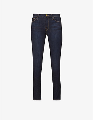 FRAME: Le Skinny de Jeanne skinny mid-rise jeans
