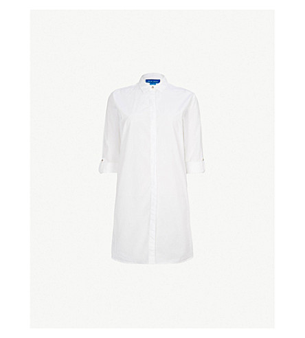 a2df49921cdfa MIH JEANS Oversized cotton shirt (White
