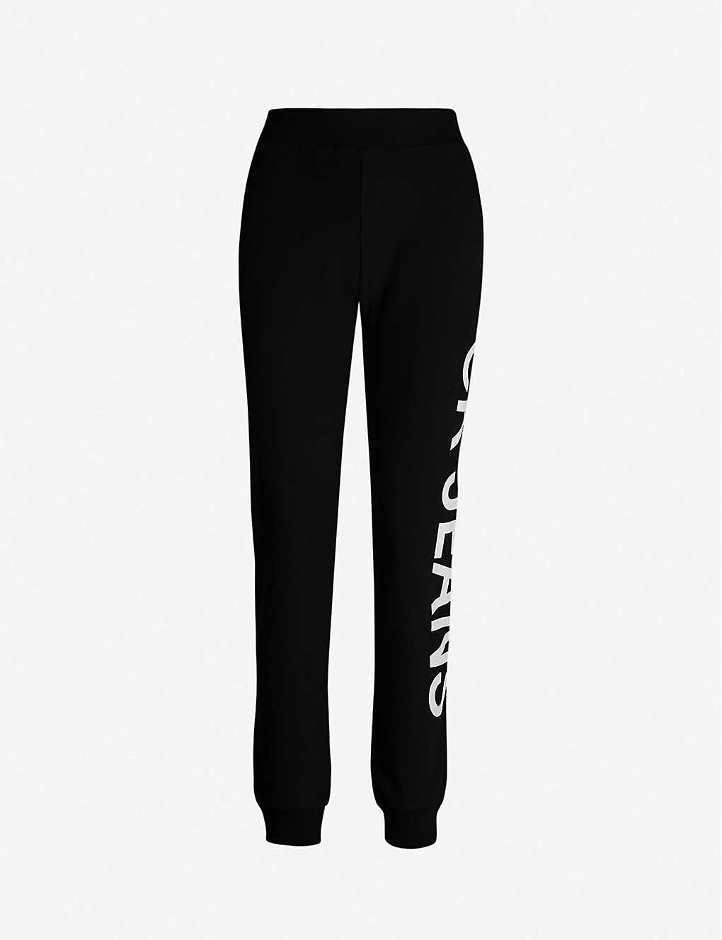 d133d7c608eb6d CALVIN KLEIN - Logo-side cotton-jersey jogging bottoms | Selfridges.com