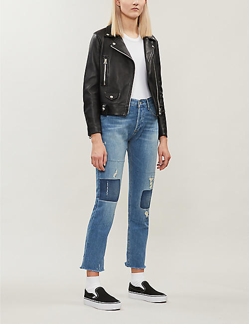 RAG & BONE Rosa mid-rise stretch-denim boyfriend jeans