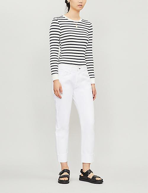 da9bff94dde2 RAG   BONE Rosa Mr Boyfriend straight mid-rise jeans