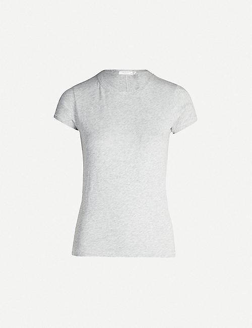 1181c6c2d RAG   BONE Round neck cotton-jersey T-shirt