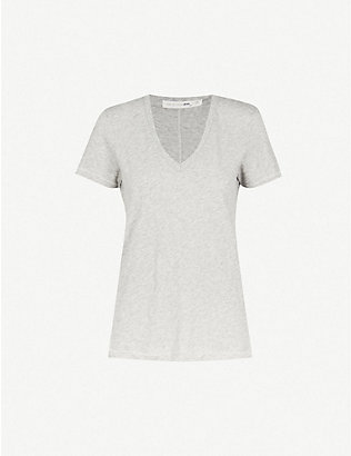 RAG & BONE: V-neck cotton-jersey t-shirt