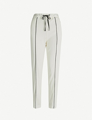 RAG & BONE Stratten drawstring-waistband knitted trousers