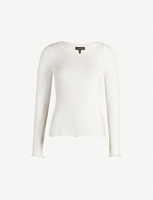RAG & BONE Bre jersey-knit top