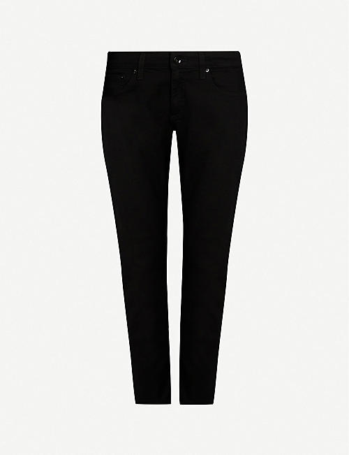 RAG & BONE: Dre slim-fit low rise boyfriend jeans