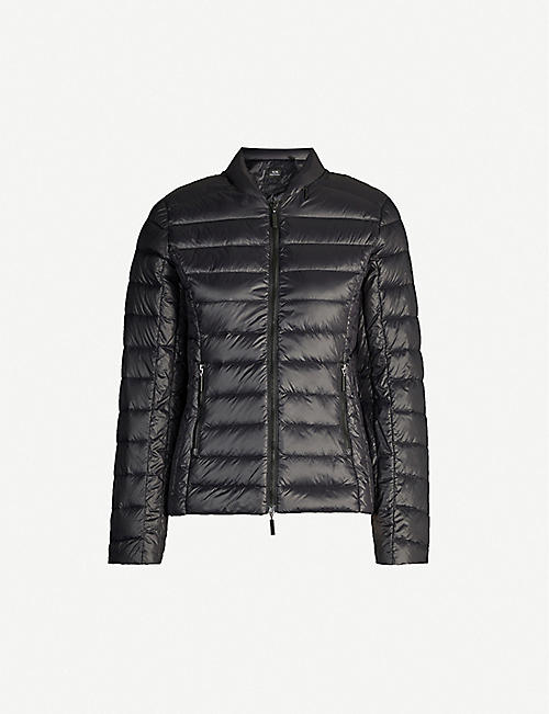 ARMANI EXCHANGE Zipped shell down jacket