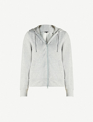 ARMANI EXCHANGE Slim-fit stretch-jersey hoody