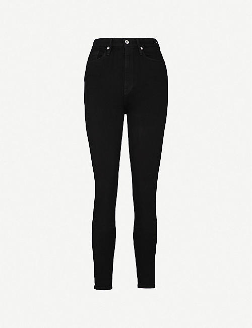 GOOD AMERICAN: Good Waist skinny ultra high-rise jeans