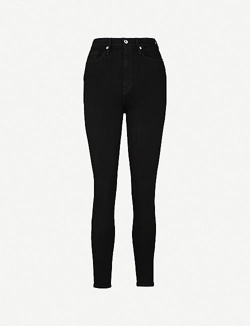 78591ff160af GOOD AMERICAN Good Waist skinny ultra high-rise jeans