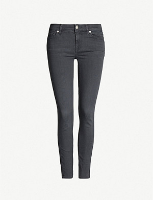 7 FOR ALL MANKIND The Skinny Crop skinny high-rise jeans