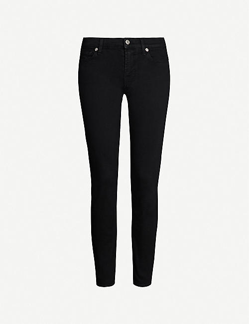 7 FOR ALL MANKIND: Skinny Crop skinny mid-rise jeans