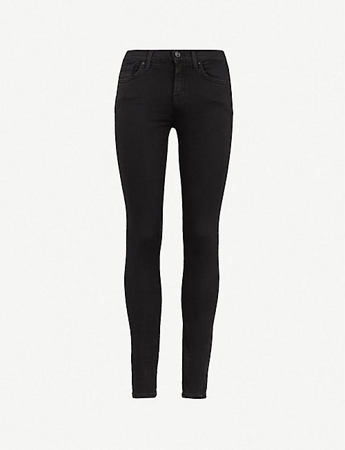 7 FOR ALL MANKIND The Skinny Crop mid-rise super-skinny jeans